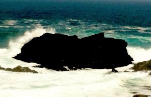 Buda con olas